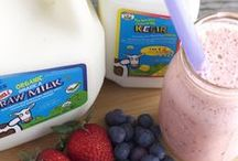 Raw Milk Recipes / ORGANIC PASTURES raw whole milk is alive with fully active enzymes, a broad spectrum of naturally occurring beneficial bacteria, all 22 essential amino acids, OMEGA-3 fatty acids, metabolically available vitamins, immunoglobulin's, minerals, antioxidants, and CLA.