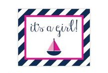 nautical baby shower / inspiration for a nautical baby shower / by Made by Cristina Marie