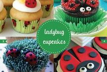 ladybug baby shower / inspiration for a ladybug baby shower / by Made by Cristina Marie