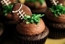football party / inspiration for a football party / by Made by Cristina Marie