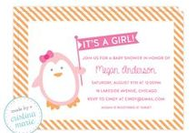penguin baby shower / by Made by Cristina Marie