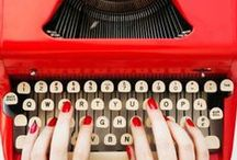 Life / lifehacks, graphics, deisgn, interior design, at home, typewriter