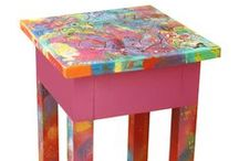 Recycled Art / Eigen werk / Recycled Art