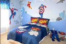 Bedrooms for the boy! / explore the coolest of the cool, ultimate boys bedrooms! From sports to music to cars to comics come on in and inspire yourselves!