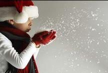Natale, Christmas time / Articoli da regalo per Natale, tessuti e stoffe a tema natalizio