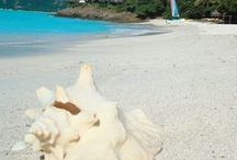 Beach Therapy / The gorgeous beaches around Cocobay Resort.