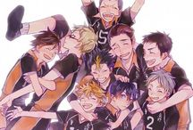 Haikyuu! / Haikyū...there is no need for a further description.