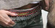Cinturones, belts / Cinturones de cuero, tela y tejidos.