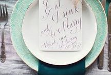 Wedding / DIY wedding projects and wedding decor