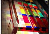 Colourful Acrylic Glass