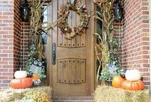 Fall Decor / Add a touch of Autumn to your home in a subtle, elegant way.