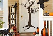 Halloween Decor / Unique Halloween home decor personalized for your home.