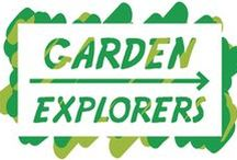 Garden Explorers / Inspiring, fun ideas to entertain children of all ages focusing on connecting them with nature in their own garden!