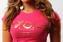 F.O.G. SIGNATURE Christian T-Shirt - Pretty Pink / Express that you have God's wonderful favor! This crew neckline Christian T-shirt features the bold F.O.G. logo in gold foil at the front and is a must have for the season. It also features the scripture Isaiah 61:9 on right sleeve which represents God's favor! #FOG Christian T-Shirts # Christian T-Shirts #Christian T-Shirts for Women #Stylish Christian T-Shirts #FOGcollection / by F.O.G. FAVOR OF GOD