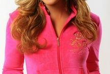 F.O.G. LUXURY VELOUR TRACKSUIT - Pop Star Pink  / Ladies, show the world that you Blessed and highly Favored in the NEW stylish F.O.G. Favor Of God Christian velour tracksuit! They are super cozy, warm and feel luxurious! Simply a Must-Have and designed to flatter a woman's beautiful curves with a true fit! Rock your faith in style and shine like a star in this F.O.G. Popstar Pink velour tracksuit!    / by F.O.G. FAVOR OF GOD