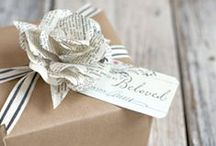 Gift Wrap  / Pretty gift wrap, packaging and tags