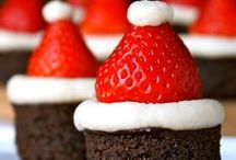 Christmas classroom treats / Here's some treats for you classroom or family holiday gathering that are sure to put smiles on lots of faces!