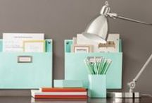 Get Organized! / Organizing tips, products and projects
