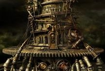 :::Steampunk:::: / a bourgeois blend of the modern and anachronistic.