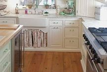 My Dream Kitchen / A Vintage style with modern updates. Owls, pale minty turquoise, pink and white. This room WILL happen! / by Michelle Krantz
