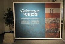Kalamazoo for the Union / On October 18, 2014, the museum opened a completely in house created exhibit on Kalamazoo during the Civil War. An exhibit of this size had not been done internally before at the museum's current location.