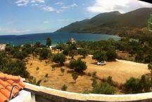 The beautiful view / The beautiful view from the domaine Papakonstantis Dimitris www.iloveskoutari.com