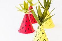 C R A F T    I D E A S / Great ideas for making decorating getting creative