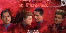 Parallax / STAR TREK VOYAGER - Parallax Desktop Wallpapers 1360 x 768