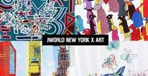J World New York X ART / The Art of Collaboration. Each piece of luggage is a work of art. Ideal for the fashion forward and art lovers. ‪