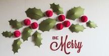 The Holidays / Make your Home festive!  From valentine's to xmas super cute ideas!