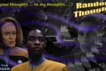 Random Thoughts / STAR TREK VOYAGER - Random Thoughts Desktop Wallpapers 1360 x 768
