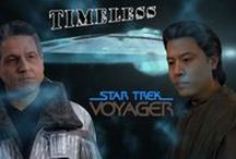 Timeless / STAR TREK VOYAGER - Timeless Desktop Wallpapers 1360 x 768