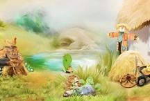 My LOs - Fantasy / Digital scrapbooking - beautiful layouts