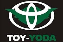 Toy Yoda / May the force be with you and your Toyota from Savannah Toyota serving Augusta and Macon, Georgia; as well as Charleston and Hilton Head Island, South Carolina! http://www.savannahtoyota.com/