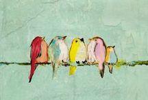 vogels kunstig / by Heidi Cox