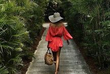 Resort Fashion / Gorgeous fashion to reach your sland vacation in style!