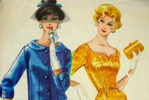 Vintage sewing patterns / by Kate-Em