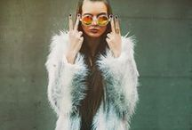 fur obsession / Obsessed with fake,big colorful furs