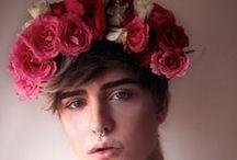 flower crowns  / flower on my hair