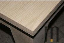Table in solid durmast / Table in solid durmast by Mazzocca Wood Design Lab http://www.mazzocca.org/