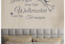 Teksten-Nederlands / Interieurstickers-Muurstickers