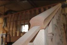 Wood Railing / Ringhiera in legno in fase di lavorazione  mazzocca.org