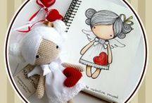 crochet angel doll