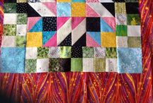 Grand Illusion Mystery Quilt / Bonnie Hunter's mystery quilt started November 2014. Clues to be published Friday each week