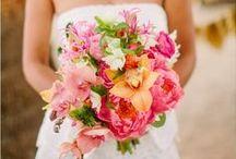 Destination Wedding Flowers / Floral designs, bouquets, and boutonnières for your destination wedding in St. Lucia.