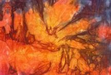 tracy fox: Limited Editions / unique hand dyed fabric designed & created by tracy fox