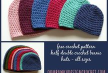 Crochet Hats / Crochet hat ideas and patterns