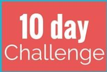 ** 10 Day Healthy Living Challenge ** / We created this 10 Day Healthy Living Challenge to help you get your mindset dialed into success. What's stopping you from living healthier? Find out with our FREE challenge.