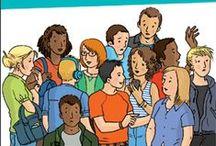 Des guides pour les adolescents / Ces guides sont destinés aux adolescents pour les accompagner et répondre à leurs interrogations. Tous ont été illustrés par Sandrine Herrenschmidt, l'illustratrice de l'association.