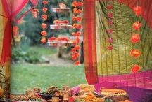 WEDDING INSPO: Exotic India / A feast of exotic color, furnishings and details to help you dream up the perfect Silk Road wedding